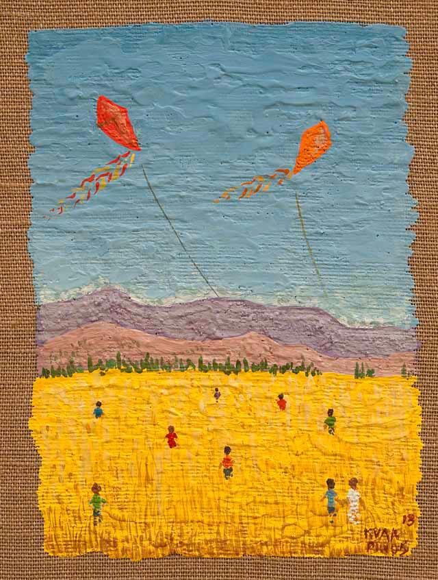 Hunting kites