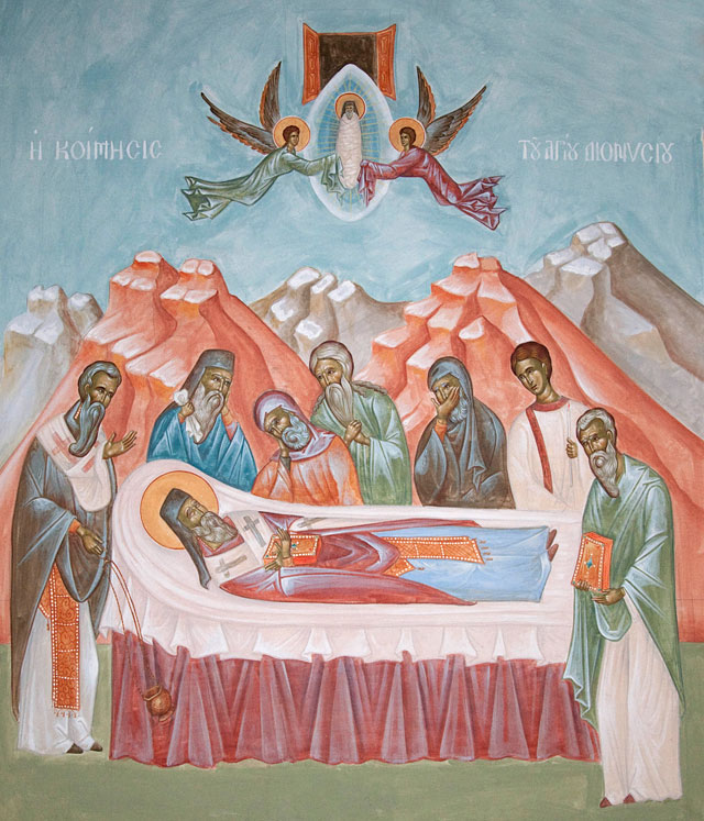 The Assumption of Saint Dionysios of Zakynthos