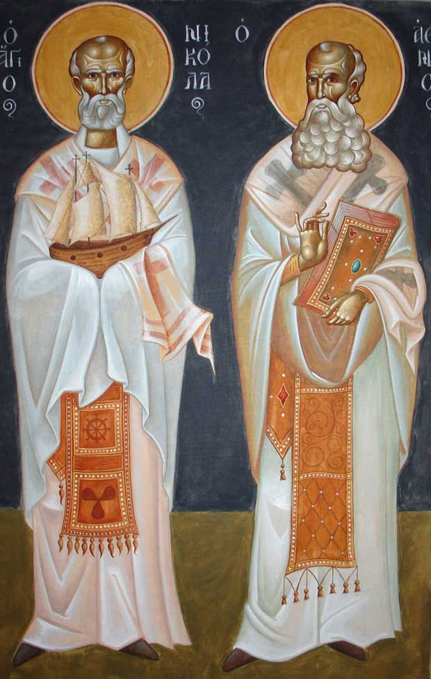 The Saints Nicholas and Athanasios