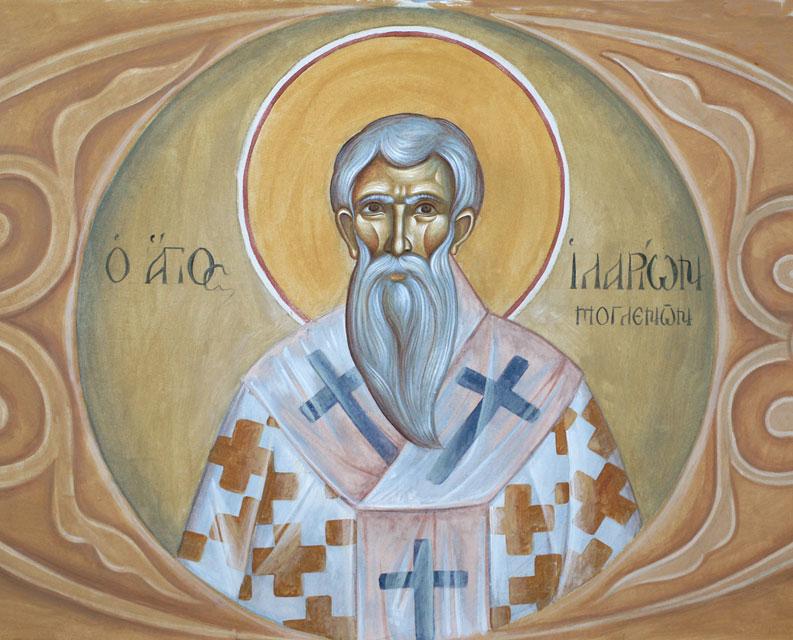 Ο Άγιος Ιλαρίων Μογλενών