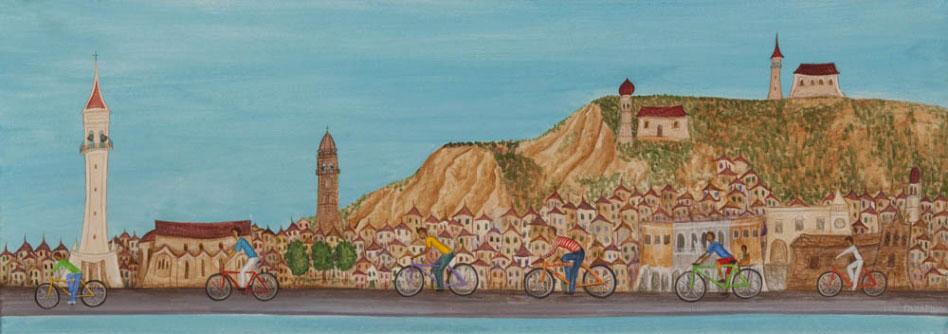 Ποδηλατάδα στη Strada Marina