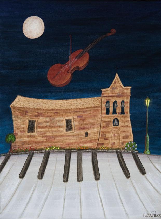 Concert in Agios Nikolaus, Molos Zante at Holy Monday.