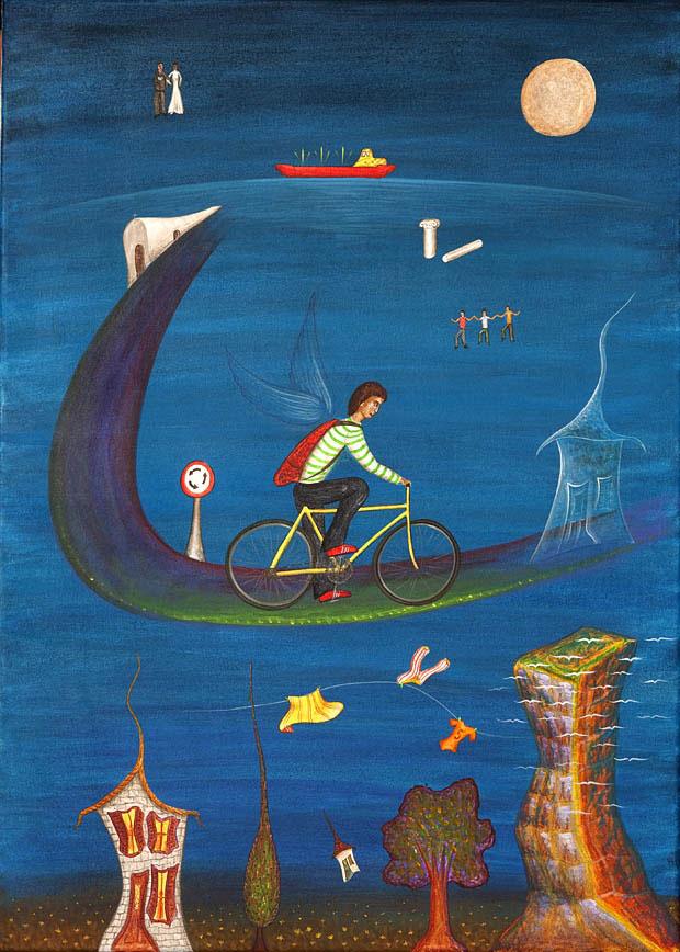 Άγγελος ποδηλάτης