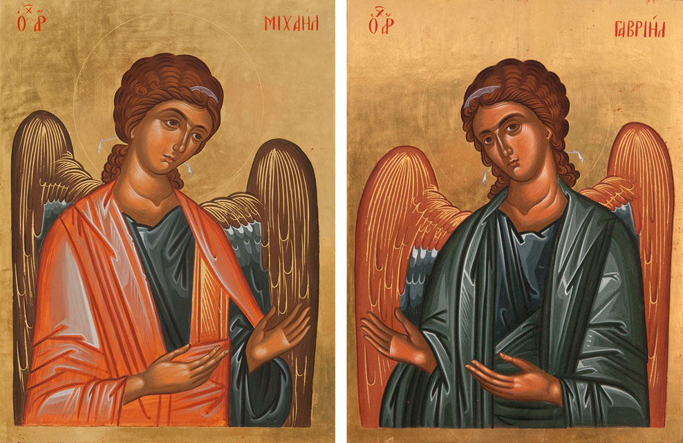 Archangel Michael and Gabriel