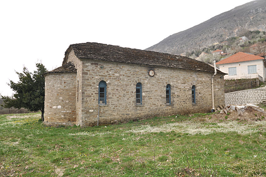 The Archangels church in the village Kriovrisi of Ioannina