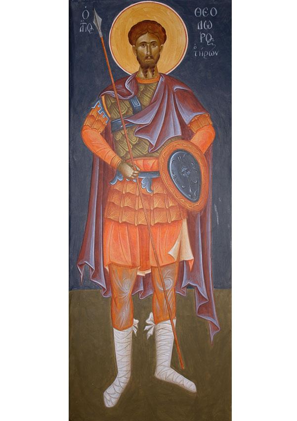 Ο Άγιος Θεόδωρος