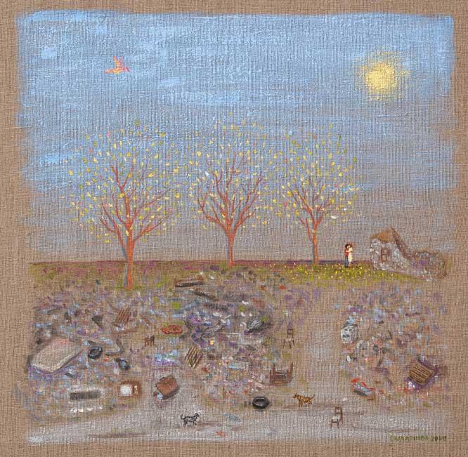 Παράδεισος στον σκουπιδότοπο